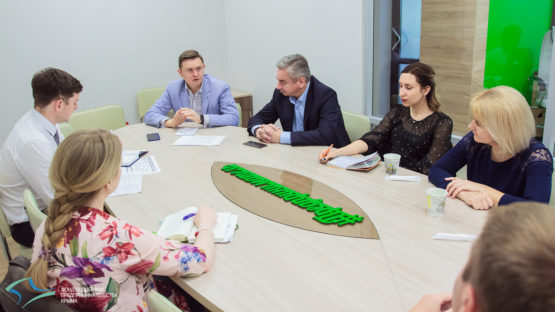 Директор Фонда обсудил будущее «Дома предпринимателя» с представителями Министерства экономического развития