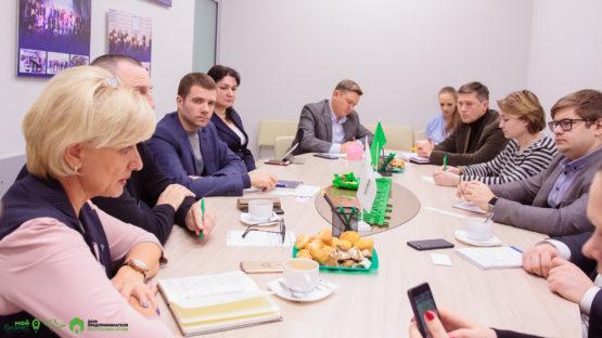 Встреча министерства и организаций поддержки в Доме предпринимателя
