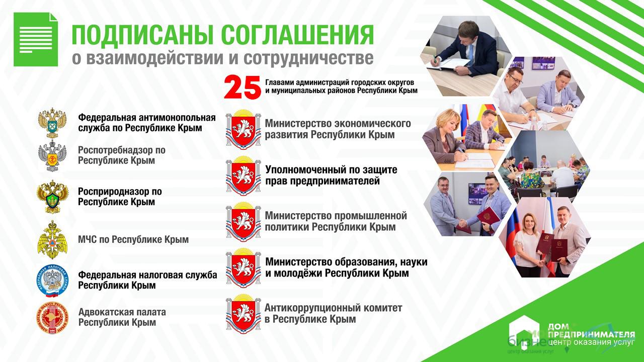 Подписаны соглашения