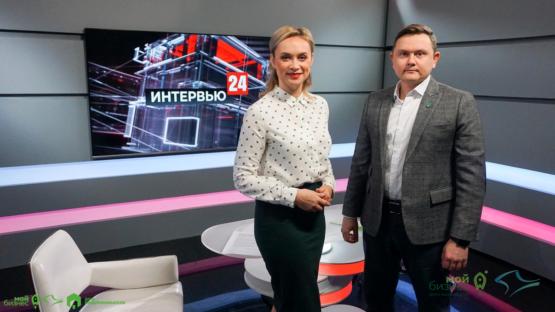 Дмитрий Зеленский в эфире программы «Интервью 24» с Анной Мелиховой.
