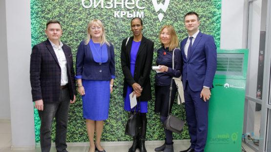 Представители крупнейшего американского издания «The Wall Street Journal» посетили Фонд поддержки предпринимательства Крыма