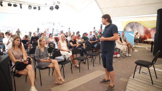 Еще один мастер-класс позади. На территории «БИЗНЕС CAMP» выступил Максим Волков.