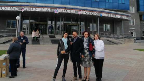 Делегация представителей Туристического кластера Республики Крым с 16 по 19 сентября успешно провела работу в рамках «Ярмарки здоровья», которая прошла в Международном выставочно-деловом центре «Сибирь» в Красноярске