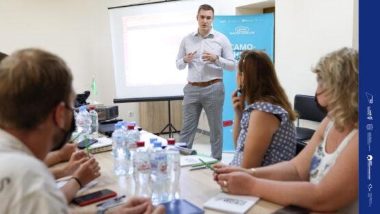 В Красноперекопске прошел первый из 10 запланированных мастер-классов для самозанятых