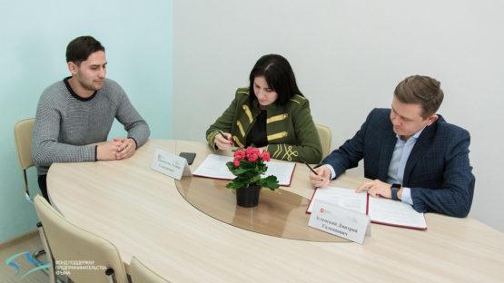 Подписание соглашения Фонда с КРО «Российский союз молодежи»