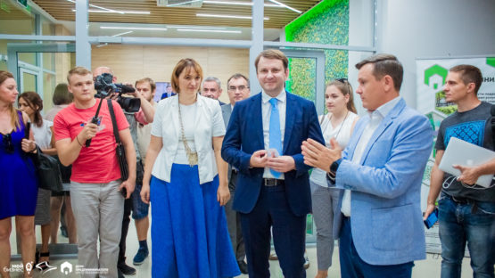 Министр экономического развития РФ в Доме предпринимателя